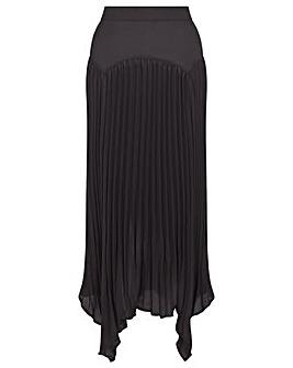 Monsoon Handkerchief Hem Midi Skirt