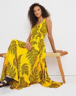 Joe Browns Palm Print Strappy Dress