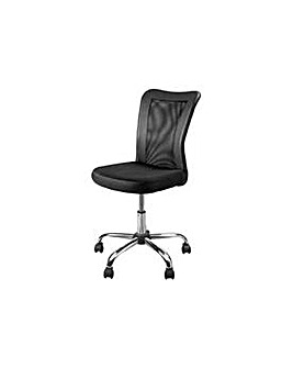 Reade Mesh Gas Lift Office Chair - Black