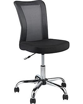 Reade Mesh Gas Lift Office Chair - Black