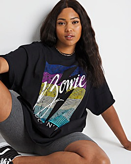 Oversized Bowie Graphic Tee