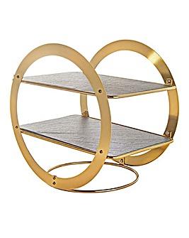 Artesa Wheel Frame Serving Stand