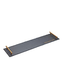 Artesa Rectangular Slate Serving Platter