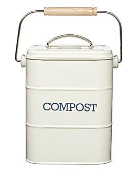 Living Nostalgia Steel Compost Bin