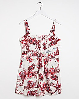 Joe Browns Flower Print Vest Top