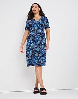 Joe Browns Paisley Gathered Waist Dress