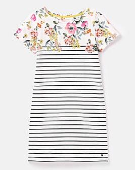 Joules Riviera Printed Jersey Dress