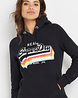 Superdry Vintage Rainbow Hoodie