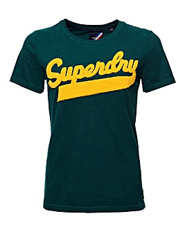 Superdry College Chenille Tee