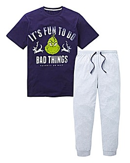 The Grinch Cuffed Pyjama Set