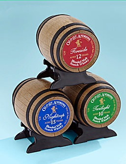 Old St. Andrews Set of 3 Whisky Barrels