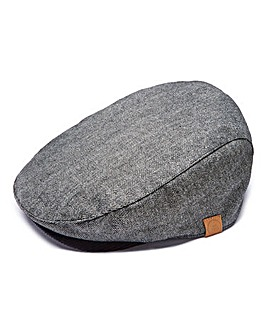 Capsule Grey Flat Cap