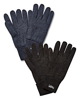 Pack of 2 Thinsulate Gloves