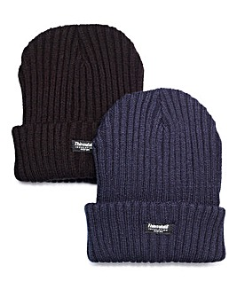 Capsule Pack of 2 Thinsulate Hats