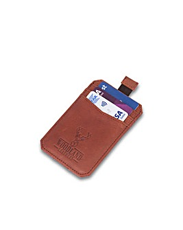 "Woodland Leather Pull Tab CC 3.1"" RFID"