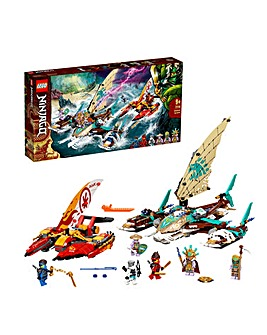 LEGO NINJAGO Catamaran Sea Battle - 71748