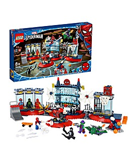 LEGO Marvel Spider-Man Attack on the Spider Lair - 76175