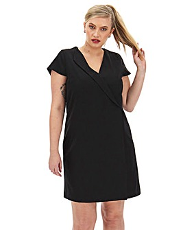 Tailored Shift Dress