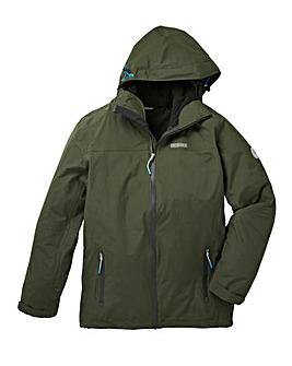 Snowdonia khaki 3-in-1 Jacket