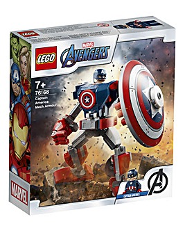 LEGO Marvel Captain America Mech Armour - 76168