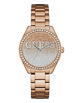Guess Ladies Glitter Girl Bracelet Watch