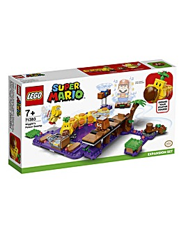 LEGO Super Mario Wiggler's Poison Swamp Expansion Set - 71383