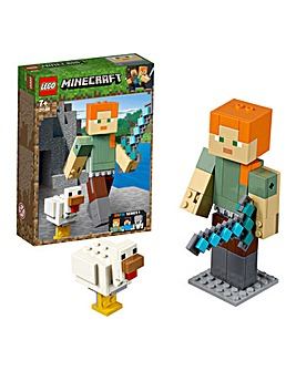 LEGO Minecraft Alex BigFig with Chicken