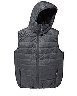 Snowdonia Graphite Duck Down Gilet