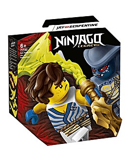 LEGO NINJAGO Set - Jay vs. Serpentine