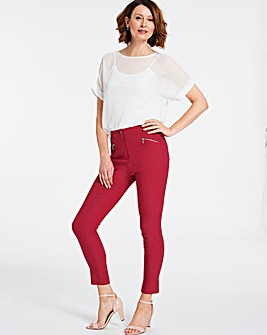 Stretch Cigarette Trousers
