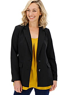 Tailored Black Blazer