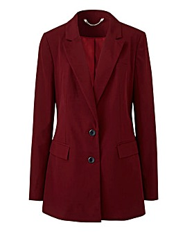 Tailored Berry Blazer