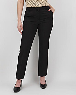 Tailored Straight Leg Trousers Petite