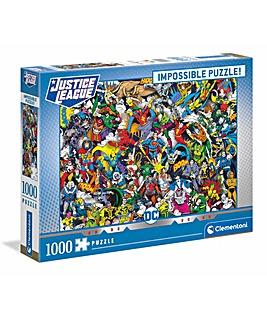 Clementoni 1000pcs ImpossibLe Puzzle - DC Comics