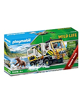 Playmobil 70278 Wild Life Outdoor Expedition Truck