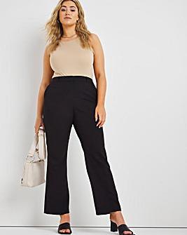 Tailored Bootcut Trousers Regular