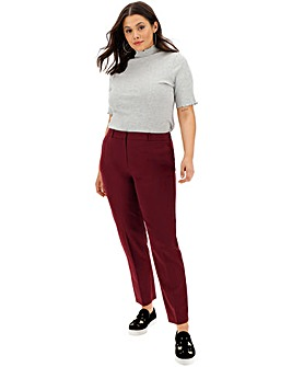 Tailored Tapered Trousers Long
