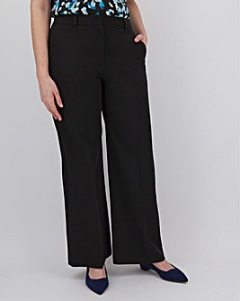 Tailored Wide Leg Trousers Regular