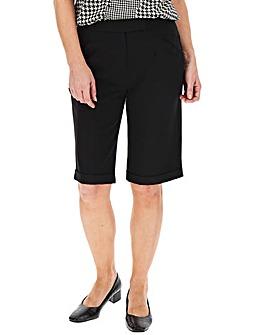 Tailored Black City Shorts