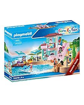 Playmobil 70278 Family Fun Waterfront Ice Cream Shop