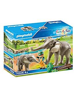 Playmobil 70324 Elephant Habitat