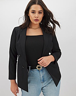 Mix & Match Black Edge to Edge Blazer