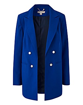 Mix & Match Ink Blue Edge to Edge Blazer