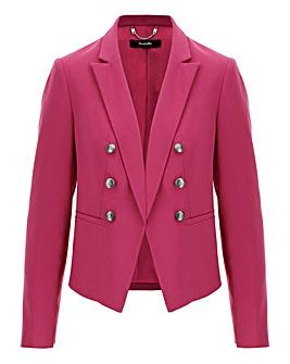 Mix and Match Pink Cropped Blazer