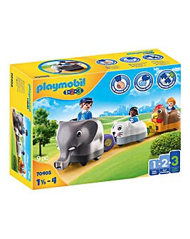 Playmobil 70405 1.2.3 Animal Train