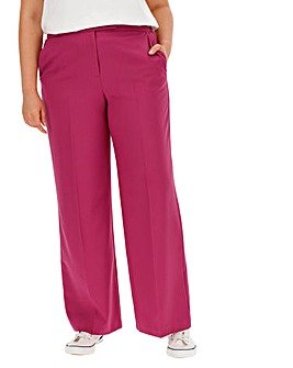 Mix and Match Pink Wide Leg Trousers