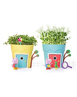 Peppa Pig Growing Peppa & George