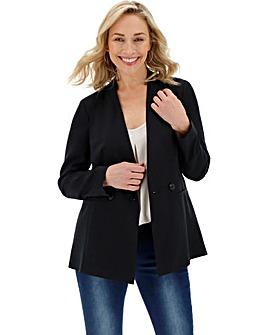 Basic Black Workwear Blazer