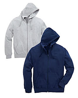 Capsule Pack of 2 Hooded Sweatshirts