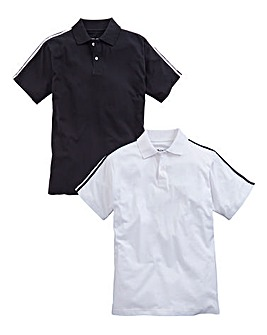 Capsule Pack 2 Black/White Polo Shirts
